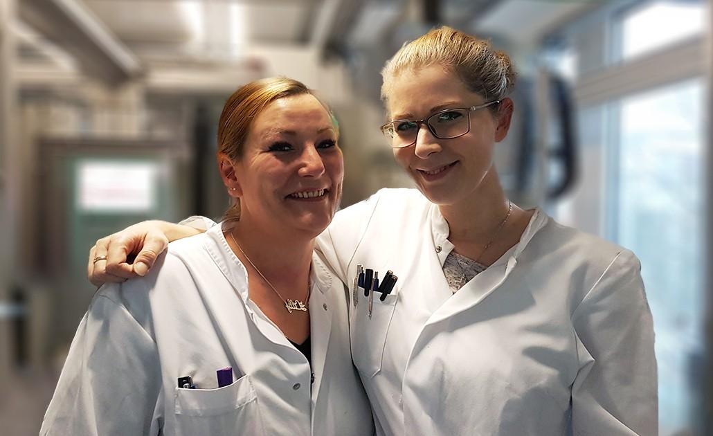 Meet the Eurofins Genomics Team – Anita and Linda